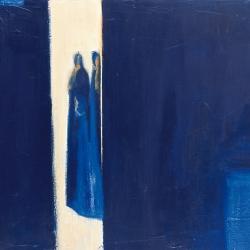 2 blaue Gestalten I
